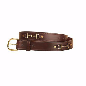 Tory Leather læderbælte m. bid