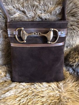 Tory Leather ruskinds skuldertaske