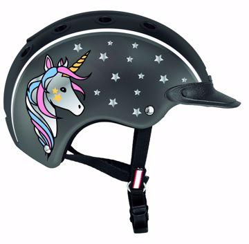 Eldorado ridehjelm casco nori unicorn