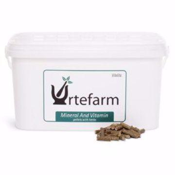 UrteFarm Mineral & Vitamin Pellerts